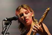 Pictured: Wolf Alice. Saturday 26 May 2018<br /> Re: BBC Radio 1 Biggest Weekend at Singleton Park in Swansea, Wales, UK.