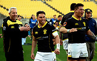 Action from the Mitre 10 Cup rugby match between Wellington Lions and Taranaki at Westpac Stadium in Wellington, New Zealand on Saturday, 27 August 2017. Photo: Mike Moran / lintottphoto.co.nz