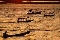 Rio Tocantins na orla de Marabá.<br /> Marabá, Pará, Brasil.<br /> Foto Raimundo Paccó<br /> 01/06/2014