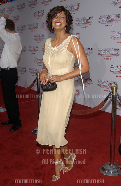 Actress JENNIFER GIMENEZ at the Hollywood premiere of Charlie's Angels: Full Throttle..June 18, 2003.