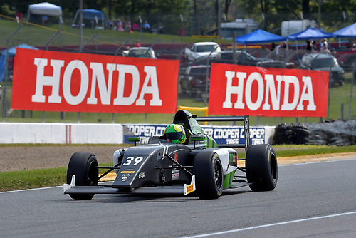 F4 US Championship<br /> Rounds 10-11-12<br /> Mid-Ohio Sports Car Course, Lexington, OH USA<br /> Saturday 12 August 2017<br /> 39, Justin Sirgany<br /> World Copyright: Dan R. Boyd<br /> LAT Images
