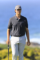 Beau Hossler (USA) on the 7th green of Monterey Peninsula CC during Saturday's Round 3 of the 2018 AT&amp;T Pebble Beach Pro-Am, held over 3 courses Pebble Beach, Spyglass Hill and Monterey, California, USA. 10th February 2018.<br /> Picture: Eoin Clarke | Golffile<br /> <br /> <br /> All photos usage must carry mandatory copyright credit (&copy; Golffile | Eoin Clarke)