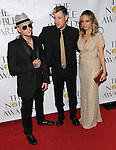 Benji Madden,Nicole Richie & Joel Madden at the Noble Awards held at the Beverly Hilton Hotel in Beverly Hills, California on October 18,2009                                                                   Copyright 2009 DVS / RockinExposures
