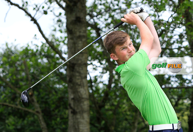 Ross Kelly (Tuam) on the 14th tee during Round 3 of the 2016 Connacht Strokeplay Championship at Athlone Golf Club on Sunday 12th June 2016.<br /> Picture:  Golffile   Thos Caffrey