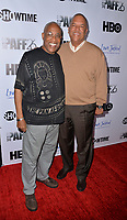 LOS ANGELES, CA- FEB. 08: Ayuko Babu, Ken Lombard at the 2018 Pan African Film & Arts Festival at the Cinemark Baldwin Hills 15 in Los Angeles, California on Feburary 8, 2018 Credit: Koi Sojer/ Snap'N U Photos / Media Punch