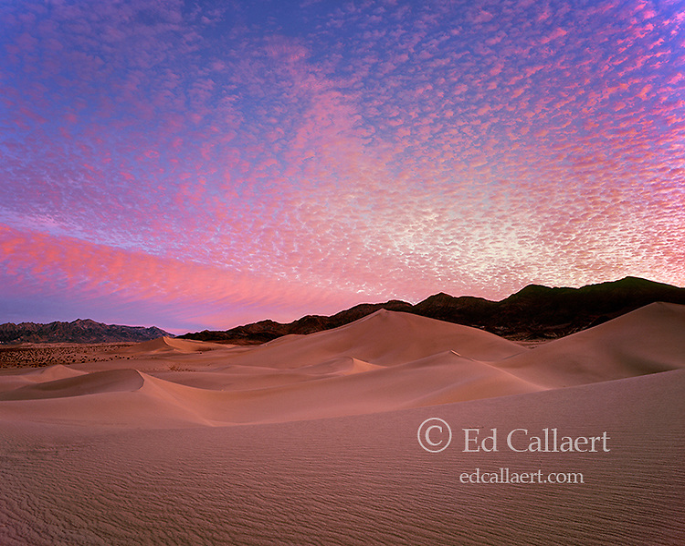 Dawn, Ibex Dunes, Death Valley National Park, California