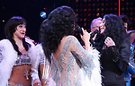 Micaela Diamond, Stephanie J. Block and Cher during the Broadway Opening Night Curtain Call of 'The Cher Show'  at Neil Simon Theatre on December 3, 2018 in New York City.