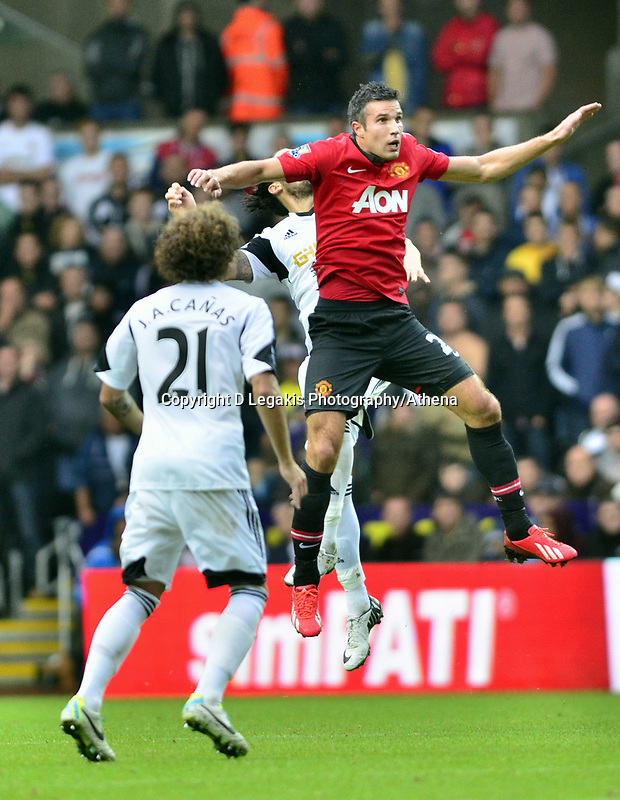 Robin Van Persie pictured in action.<br />