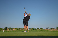 Laura Davies (ENG) watches her tee shot on 9 during round 1 of  the Volunteers of America LPGA Texas Classic, at the Old American Golf Club in The Colony, Texas, USA. 5/5/2018.<br /> Picture: Golffile | Ken Murray<br /> <br /> <br /> All photo usage must carry mandatory copyright credit (&copy; Golffile | Ken Murray)