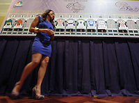 Scenes from the Breeders' Cup 2012 Post Position Draw at Santa Anita Park October 29, 2012.
