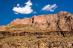 Scenic, Grand Canyon seen from the Colorado River, Arizona, AZ, cliffs, landscape, horizontal, arid, erosion, nature, Image nv457-18786.Photo copyright: Lee Foster, www.fostertravel.com, lee@fostertravel.com, 510-549-2202