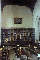 Oxford: New College Hall--interior.