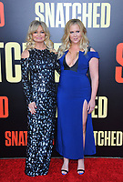 www.acepixs.com<br /> <br /> May 10 2017, LA<br /> <br /> (L-R) Goldie Hawn and Amy Schumer arriving at the premiere of 'Snatched' at the Regency Village Theatre on May 10, 2017 in Westwood, California<br /> <br /> By Line: Peter West/ACE Pictures<br /> <br /> <br /> ACE Pictures Inc<br /> Tel: 6467670430<br /> Email: info@acepixs.com<br /> www.acepixs.com