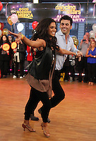 NEW YORK, NY - NOVEMBER 28: Melissa Rycroft and Tony Dovolani winners of Dancing with the Stars visit Good Morning America in New York City. Novemebr 28, 2012. Credit: RW/MediaPunch Inc. /NortePhoto
