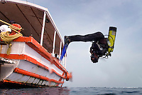 Diving in the remote Lakshadweep Atol of India