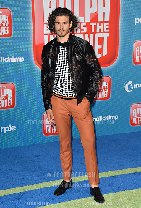 LOS ANGELES, CA. November 05, 2018: Tommy Martinez at the world premiere of &quot;Ralph Breaks The Internet&quot; at the El Capitan Theatre.<br /> Picture: Paul Smith/Featureflash