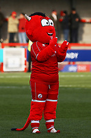 Crawley mascot during Crawley Town vs Fleetwood Town, Emirates FA Cup Football at Broadfield Stadium on 1st December 2019