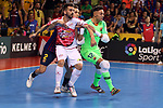 League LNFS 2018/2019.<br /> Play Off. Game: 5.<br /> FC Barcelona Lassa vs El Pozo Murcia: 3-2.<br /> Alex, Aicardo & Juanjo.
