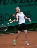 August 4, 2014, Netherlands, Dordrecht, TC Dash 35, Tennis, National Junior Championships, NJK,  Lois van de Fliert (NED)<br /> Photo: Tennisimages/Henk Koster