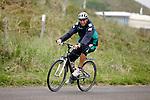FBL 08/09 Trainingslager  Werder Bremen - 2008 Norderney - Day 1<br /> <br /> Anstatt des ueblichen Strandlaufes am morgen gab es fuer die Spieler am ersten Tag eine neue Ueberraschung.<br /> <br /> Thomas Schaaf ( Bremen GER - Trainer  COACH) hatte kurz umdisponiert und forderte seine Spieler zu einer morgendlichen Radtour um die Insel auf.<br /> <br /> Keeper Tim Wiese ( Bremen GER #1)<br /> <br /> Foto &copy; nordphoto <br /> <br /> <br /> <br />  *** Local Caption ***
