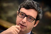 Roma, 29 Marzo 2017<br /> Conferenza stampa di Andrea Orlando, candidato alla segreteria nel Congresso del PD, durante la presentazione della Conferenza programmatica della sua mozione.