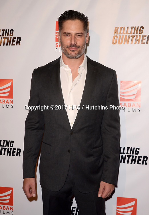 "LOS ANGELES - OCT 14:  Joe Manganiello at the ""Killing Gunther"" Los Angeles Special Screening at the TCL Chinese 6 Theaters on October 14, 2017 in Los Angeles, CA"