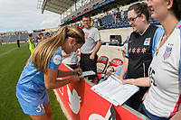 Bridgeview, IL - Sunday June 04, 2017: Lauren Kaskie during a regular season National Women's Soccer League (NWSL) match between the Chicago Red Stars and the Seattle Reign FC at Toyota Park. The Red Stars won 1-0.