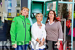 Julie O'Sullivan (First Responder), Audrey Moran and Eileen Whelan showing the damaged Defibrillator in the Mall on Monday.