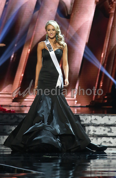 01 June 2016 - Las Vegas, Nevada -  Miss Iowa, Alissa Morrisonl. 2016 Miss USA Pageant Preliminary Competition at the T-Mobile Arena.  Photo Credit: MJT/AdMedia