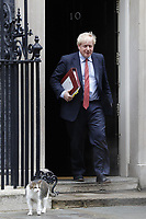 JUL 08 Leaving 10 Downing Street for Parliament
