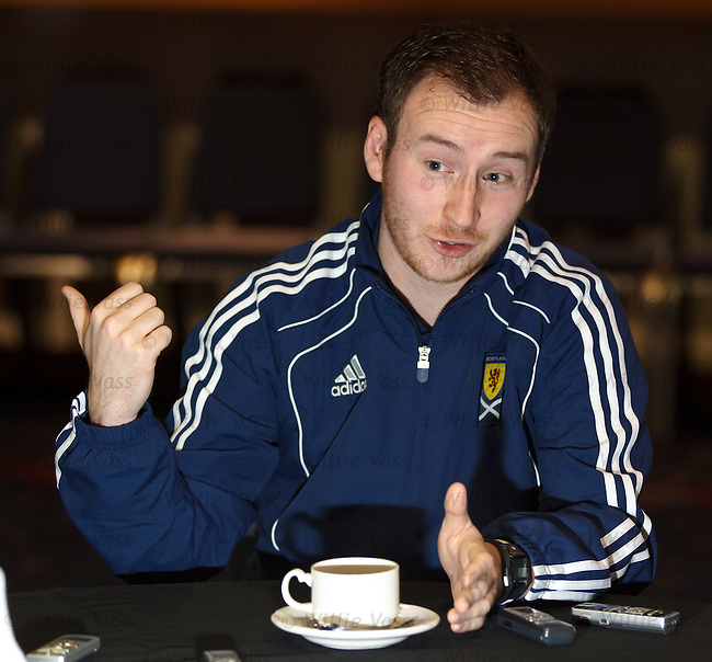 Ian Cathro, one of the seven new SFA regional schools performance coaches tasked with developing young players for Scotland