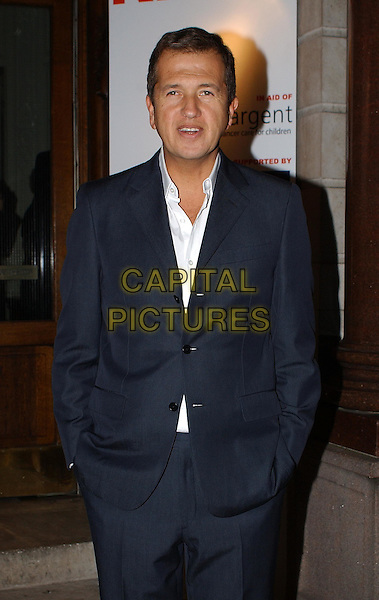 MARIO TESTINO .The Launch Of Mario Testino's New Book Which Contains Photographs He Has Taken Of Celbrities Children. Mayfair, London.20th October 2003.half length, half-length.www.capitalpictures.com.sales@capitalpictures.com.Supplied By Capital PIctures