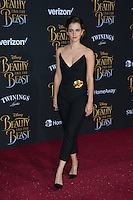 Emma Watson at the premiere for Disney's &quot;Beauty and the Beast&quot; at El Capitan Theatre, Hollywood. Los Angeles, USA 02 March  2017<br /> Picture: Paul Smith/Featureflash/SilverHub 0208 004 5359 sales@silverhubmedia.com