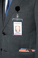 Prominent Trump supporter Alabama Senator Jeff Sessions attended the rally for Republican presidential nominee Donald Trump in the ballroom in the Midtown Hilton at the election night victory rally for Republican presidential nominee Donald Trump, on Tues., Nov. 8, 2016. The race was called for Trump in the early hours of Nov. 9.