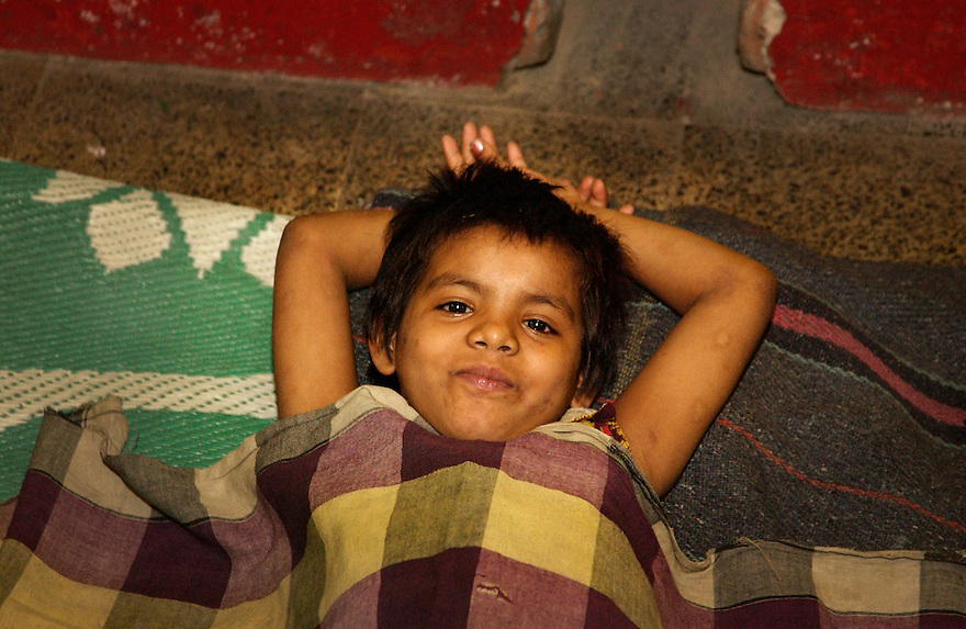 India, Calcutta, 3 maart 2005......Foto (c) Michiel Wijnbergh