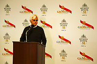ELMONT, NY - JUNE 07: Bob Baffert, trainer for the triple crown expected colt, Justify, attends the press conference at Belmont Park on June 7, 2018 in Elmont, New York. (Photo by Kaz Ishida/Eclipse Sportswire/Getty Images)