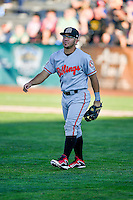 Alberti Chavez (16) of the Billings Mustangs during the game against the Ogden Raptors in Pioneer League action at Lindquist Field on August 12, 2016 in Ogden, Utah. Billings defeated Ogden 7-6. (Stephen Smith/Four Seam Images)