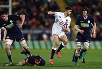 Tom de Glanville of England U20 takes on the Scotland defence. U20 Six Nations match, between England U20 and Scotland U20 on March 15, 2019 at Franklin's Gardens in Northampton, England. Photo by: Patrick Khachfe / JMP
