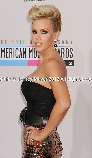 LOS ANGELES, CA - NOVEMBER 18: Jenny McCarthy attends the 40th Anniversary American Music Awards held at Nokia Theatre L.A. Live on November 18, 2012 in Los Angeles, California.