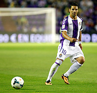 Real Valladolid´s Oscar during La Liga match.August 31,2013. (ALTERPHOTOS/Victor Blanco)