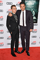 Dave Franco &amp; James Franco at the AFI Fest premiere for &quot;The Disaster Artist&quot; at the TCL Chinese Theatre. Los Angeles, USA 12 November  2017<br /> Picture: Paul Smith/Featureflash/SilverHub 0208 004 5359 sales@silverhubmedia.com