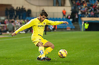 Villarreal´s Jonathan Dos Santos during 2014-15 La Liga match between Atletico de Madrid and Villarreal at Vicente Calderon stadium in Madrid, Spain. December 14, 2014. (ALTERPHOTOS/Luis Fernandez) /NortePhoto