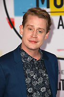 LOS ANGELES, CA - OCTOBER 09: Macaulay Culkin attends the 2018 American Music Awards at Microsoft Theater on October 9, 2018 in Los Angeles, California.  <br /> CAP/MPI/IS<br /> &copy;IS/MPI/Capital Pictures