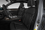 Front seat view of 2016 BMW 7 Series 4 Door Sedan Front Seat  car photos