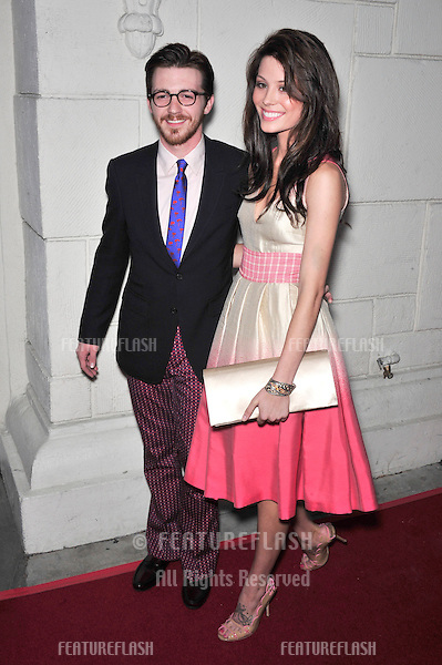 "Drake Bell & Marissa Baldwin at the premiere of his new movie ""Superhero Movie"" at the Mann Festival Theatre, Westwood..March 27, 2008  Los Angeles, CA.Picture: Paul Smith / Featureflash"