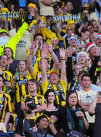 111223 A-League Football - Phoenix v Jets