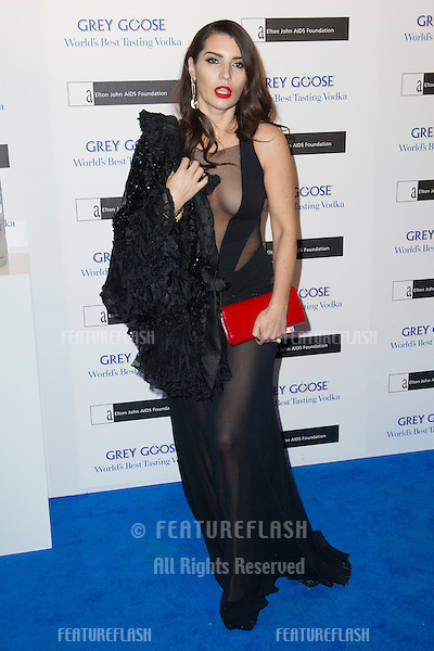 Grace Woodward arriving for the Grey Goose Ball 2012, Battersea Power Station, London. 10/11/2012 Picture by: Simon Burchell / Featureflash