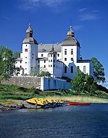Sweden, Vaestergoetland, baroque castle Laeckoe on island Kallandsoe at Lake Vaenern | Schweden, Vaestergoetland, Barockschloss Laeckoe auf der Insel Kallandsoe im Vaenern-See