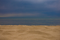 Approaching weather over Lake Michigan at Indiana Dunes State Park.
