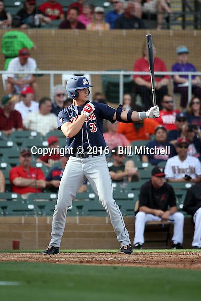Bobby Dalbec - 2016 Arizona Wildcats (Bill Mitchell)